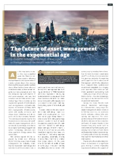 The future of asset management in the exponential age