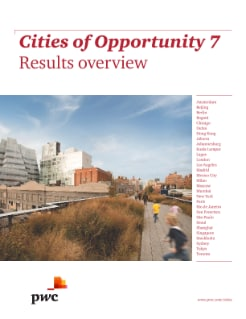 Cities of Opportunity 7 - Results overview