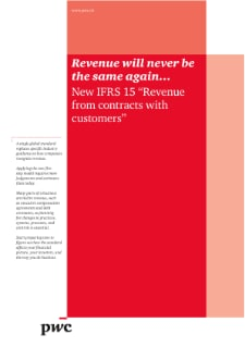 IFRS 15: Revenue will never be the same again...