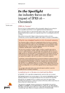 IFRS 16 Spotlight Chemicals