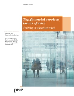 Top financial services issues of 2017