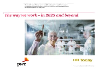 The way we work – in 2025 and beyond