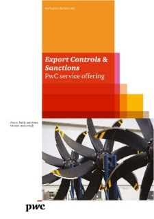 Export Controls & Sanctions: PwC service offering