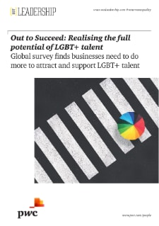 Out to Succeed: Realising the full potential of LGBT+ talent